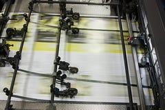 journaux de machine compensés estampés Photo libre de droits