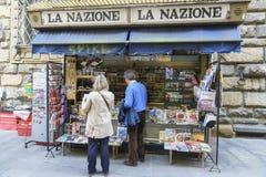 Journaux en Italie Photos libres de droits