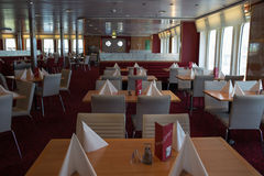 Journée 'portes ouvertes' sur l'esprit de Stena de ferry. Photo libre de droits
