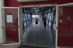 Journée 'portes ouvertes' sur l'esprit de Stena de ferry. Photographie stock libre de droits