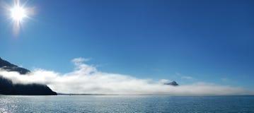 Journey  in Alaska. Journey to Mountain Morning in Alaska Stock Image