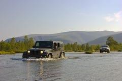 The journey along the Kola Peninsula, Russia Stock Photography