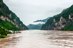 Journey along the Yangtze Royalty Free Stock Photos