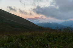 Journey through the Caucasus Natural Biosphere Reserve Stock Photos