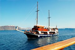 Journey through the Cyclades, Greece Royalty Free Stock Images