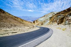 Journey in Death Valley Royalty Free Stock Photos