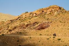 Journey in desert Stock Photography