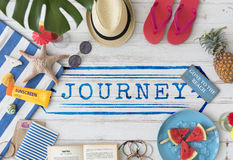 Journey Explore Travel Trek Trip Tour Graphic Concept Royalty Free Stock Photos