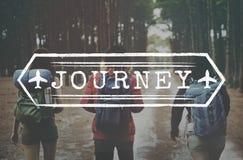 Journey Explore Travel Trek Trip Tour Graphic Concept Stock Photography