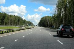 132 kilometers from Moscow. Royalty Free Stock Photography