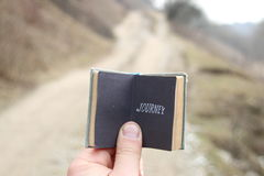 Journey idea, travel motivation Royalty Free Stock Image