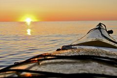 Journey by Kayak Royalty Free Stock Photos