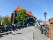 Journey through medieval Europe, Wroclaw. stock photo