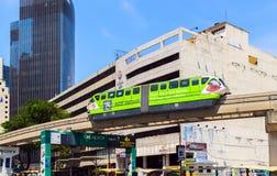 Journey Monorail train Stock Photo