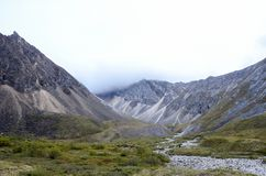 Mountains of the eastern Sayan. Stock Images