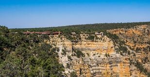 Panorama of the Grand Canyon Village in the Grand Canyon National Park. Arizona, United States Royalty Free Stock Photos