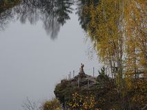 Journey through Russia. Autumn. Ural. Stock Images