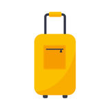 Journey suitcase travel bag vector. Royalty Free Stock Photo