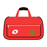 Journey suitcase travel bag vector. Royalty Free Stock Photography