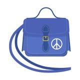 Journey suitcase travel handbag vector. Stock Photos