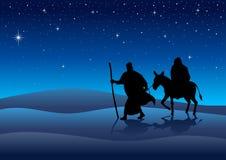 Journey To Bethlehem Royalty Free Stock Images