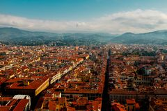 Journey to Italy. Architecture and sights of Florence Royalty Free Stock Photos