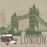 Journey to London Stock Image