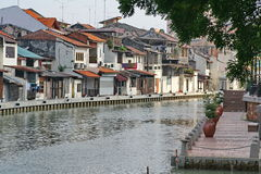 Journey to the malacca. Malacca, Malaysia is a famous place.Also is the ancient city of Stock Image