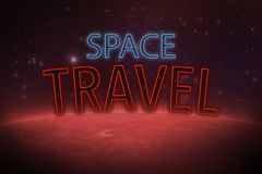 Journey to mars Royalty Free Stock Image