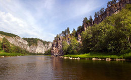 Journey to the Urals Stock Images
