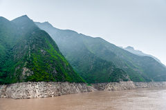 Journey to the Yangtze River along the mountains Royalty Free Stock Image