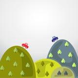 Journey travel vector illustration. Background Royalty Free Stock Image