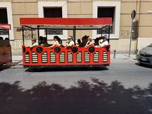 Tourist carriage  in Palermo,  Sicily Stock Photos