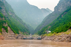 Journey on the Yangtze River Stock Image