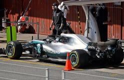 Jours 2018-Circuit Barcelone d'essai de Formule 1 Photo libre de droits