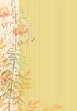 Jours d'automne avec la musique Illustration Libre de Droits