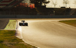 JOURS D'ESSAI DE FORMULE 1 - JENSON BUTTON Photo stock