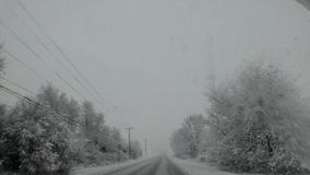 Jours d'hiver Photographie stock