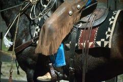 Jours de cowboy Photographie stock libre de droits
