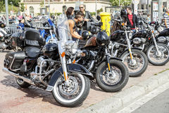 JOURS 2015 DE HARLEY DE BARCELONE Photo stock