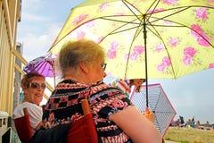Jours de parapluie d'été image libre de droits