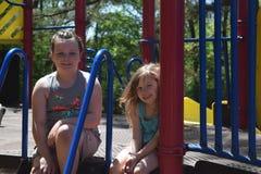 Jours de parc pendant l'été Images stock