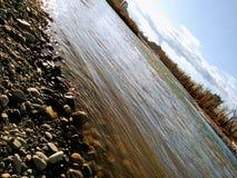 Jours de rivière photo libre de droits