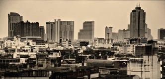 Jours gris de la grande ville Images libres de droits