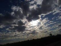 Jours nuageux Photos stock