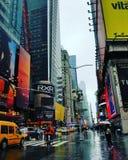 Jours pluvieux à New York City Image stock