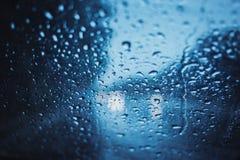 Jours pluvieux, temps foncé de tempête Photos libres de droits