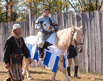 Jouster Jason Armstrong royalty free stock images