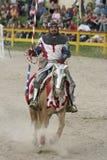jousting рыцарь Стоковые Фотографии RF