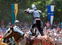 Jousting Stock Photos